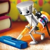 Okaeri! Chibi-Robo! Happy Richie Oosouji (DS) game cover art
