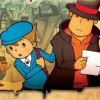 Professor Layton and the Curious Village (DS) artwork