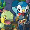 Pokemon Mystery Dungeon: Explorers of Time (DS) game cover art