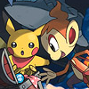 Pokemon Mystery Dungeon: Explorers of Darkness (DS) game cover art