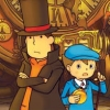 Professor Layton and the Unwound Future (DS) game cover art