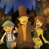 Professor Layton and the Last Specter artwork