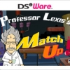 Professor Lexis's Match Up! (DS) game cover art