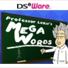 Professor Lexis's Mega Words (DS) game cover art