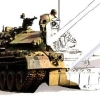 Paint by DS: Military Vehicles artwork