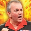 Phil Taylor's Power Play Darts (DS) game cover art