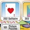Solitaire Overload Plus (DS) game cover art