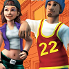 The Urbz: Sims in the City (DS) game cover art
