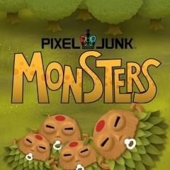 PixelJunk Monsters artwork