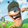 Worms Crazy Golf artwork