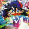 Jisedai Beegoma Battle Beyblade artwork