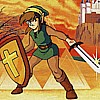 The Legend of Zelda 2: Link no Bouken (FDS) game cover art