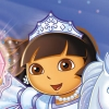 Dora the Explorer: Dora Saves the Snow Princess (WII) game cover art
