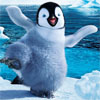 Happy Feet (WII) game cover art