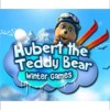 Hubert the Teddy Bear: Winter Games (WII) game cover art