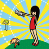 Rhythm Heaven Fever artwork