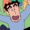 Crayon Shin-Chan: Saikyou Kazoku Kasukabe King Wii artwork