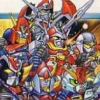 Super Robot Taisen Compact 2 Dai-2-Bu: Uchuu Gekishin-hen (WDS) game cover art