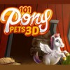 101 Pony Pets 3D (3DS) game cover art