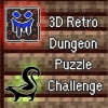 3D Retro Dungeon Puzzle Challenge artwork