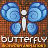 Butterfly: Inchworm Animation II (3DS) game cover art