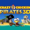 Crazy Chicken: Pirates 3D (3DS) game cover art