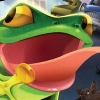 Frogger 3D artwork