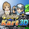 Family Kart 3D (3DS) game cover art