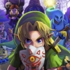 The Legend of Zelda: Majora's Mask 3D artwork