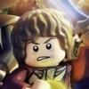 LEGO The Hobbit (3DS) game cover art