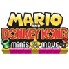 Mario and Donkey Kong: Minis on the Move (3DS) game cover art