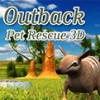 Outback Pet Rescue 3D (3DS) game cover art