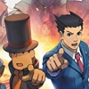 Professor Layton vs Phoenix Wright Ace Attorney (3DS) game cover art