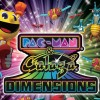 Pac-Man & Galaga Dimensions (3DS) game cover art