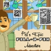 Phil's Epic Fill-a-Pix Adventure (3DS) game cover art