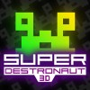 Super Destronaut 3D (3DS) game cover art