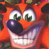 Crash Bandicoot (PSX) game cover art