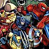 Marvel Super Heroes (PSX) game cover art