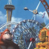 Theme Park World (PSX) game cover art