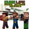 Cube Life: Pixel Action Heroes (WIIU) game cover art