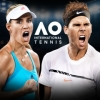 AO International Tennis artwork