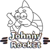 Johnny Rocket artwork