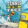 Tennis in the Face artwork