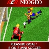 ACA NeoGeo: Pleasure Goal - 5 on 5 Mini Soccer (SWITCH) game cover art