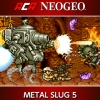 ACA NeoGeo: Metal Slug 5 (SWITCH) game cover art