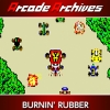 Arcade Archives: Burnin' Rubber artwork