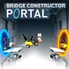 Bridge Constructor Portal (SWITCH) game cover art