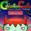 Calculation Castle : Greco's Ghostly Challenge - Subtraction (SWITCH) game cover art