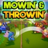 Mowin' & Throwin' (SWITCH) game cover art