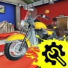 Motorcycle Mechanic Simulator (XSX) game cover art